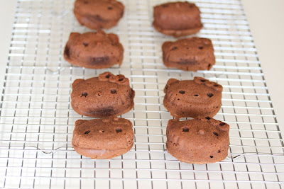 Chocolate Hello Kitty mochi