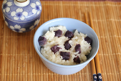 Purple Sweet Potato Rice