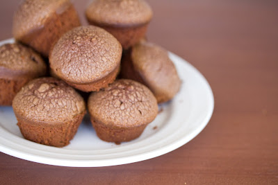 photo of a plate of mini cakes