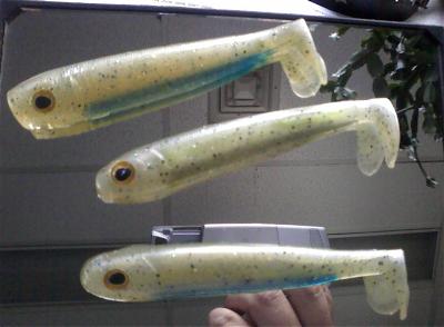 Injection Molding Swimbaits - Soft Plastics