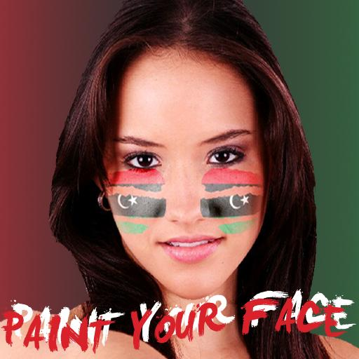Paint your face Libya LOGO-APP點子