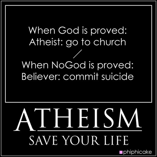 atheism save your life