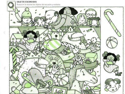Encontrar Objetos Escondidos Buscar Y Encontrar Objetos En El Dibujo