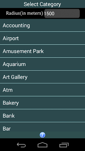 Places Route Finder