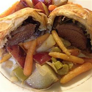 Individual Beef Wellington Without Pate Recipes.