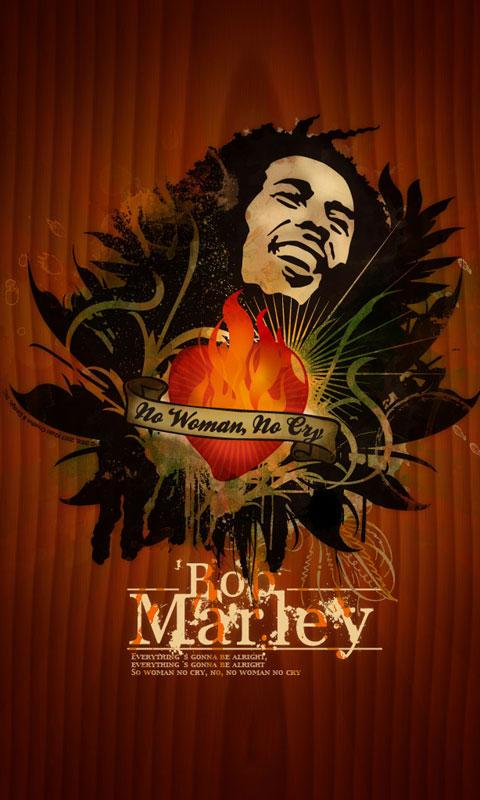 Bob Marley HD Live Wallpaper - screenshot