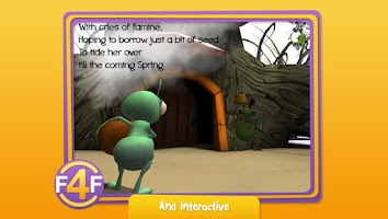 Screenshot of The Cicada and the Ant