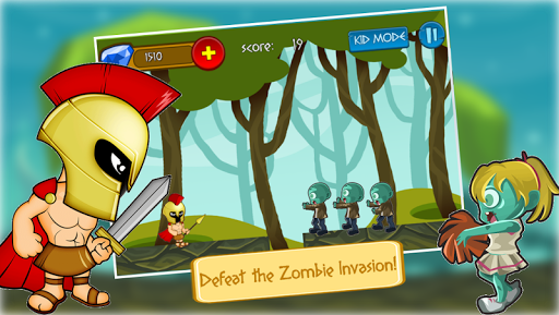 Sparta vs Zombies
