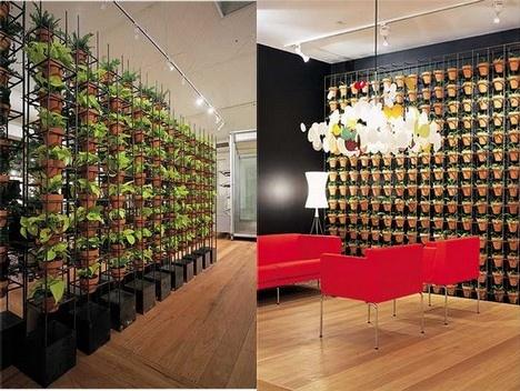 Macetas arquitectura y dise o urbanarbolismo - Estructura jardin vertical ...
