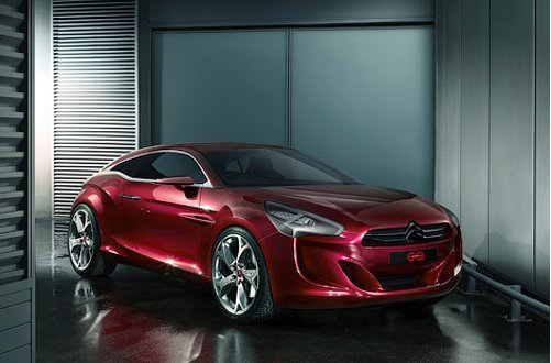 Citroen has constructed a coupe for gentlemen