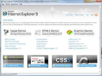 Microsoft has shown Internet Explorer 9