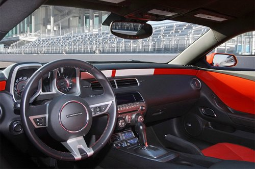 Interior of Pace Car