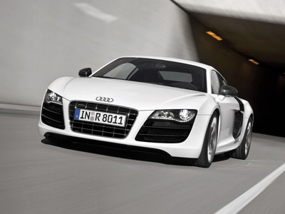 Audi can present in Frankfurt cabriolet R8