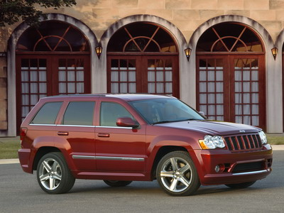 Sports crossover Jeep Grand Cherokee SRT8