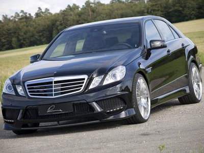 E50 CLR on the basis of Mercedes E-Class W212