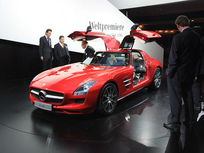 Supercar Mercedes-Benz SLS AMG
