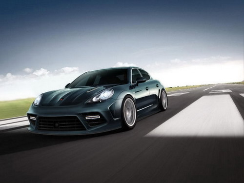 Mansory has presented unique Porsche Panamera
