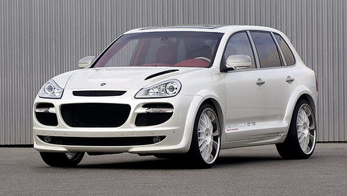 Gemballa has presented new Porsche Cayenne