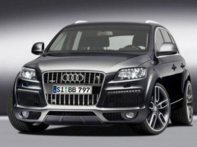 Experts B&B have developed 595-strong Audi Q7