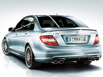 Engineers Mercedes-Benz have made C63 AMG even more powerfully