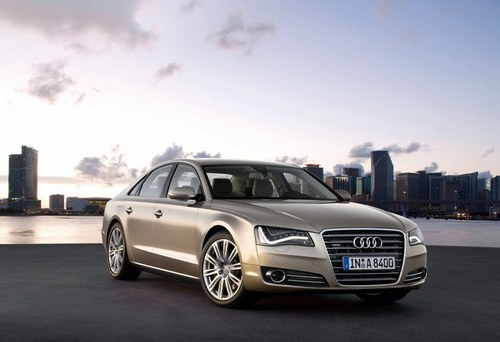 Audi has presented new sedan A8