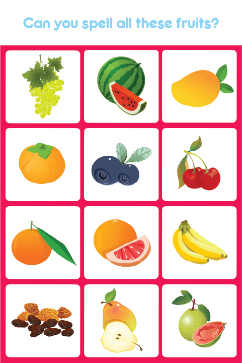 Kids Spell & Learn Fruits - Android Apps on Google Play
