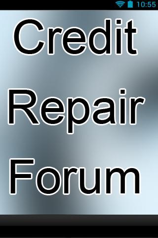 Credit Repair Forum