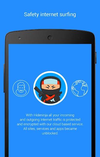 Screenshots #6. VPN Hideninja Best Free VPN / Android