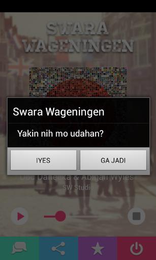 【免費音樂App】Radio Swara Wageningen-APP點子