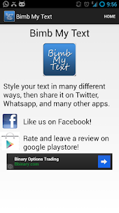 Bimb My Text - BBM Your Text- screenshot thumbnail