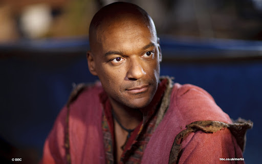 Colin Salmon is Aglain