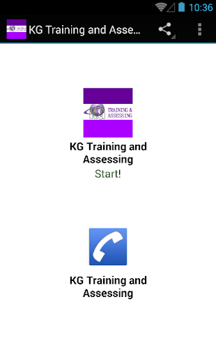 KG Training and Assessing
