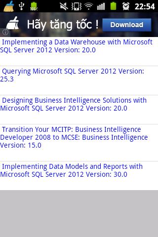 MS MCSE Business Intelligence