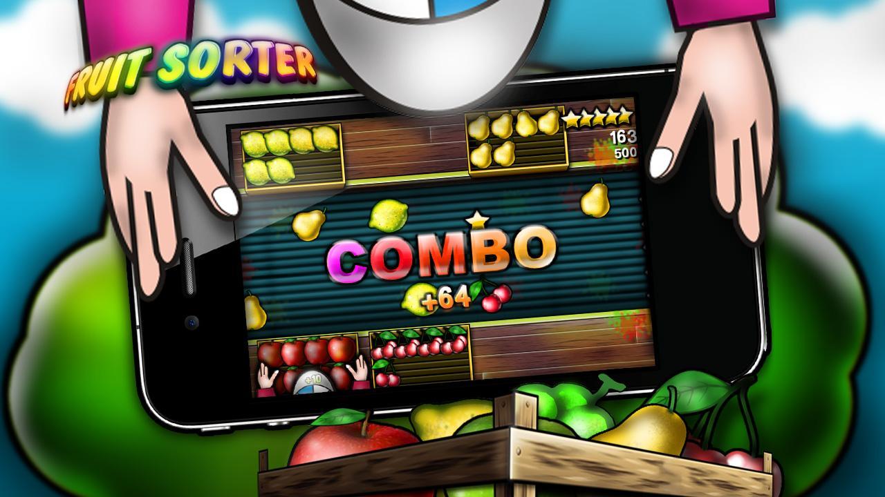 Fruit pop crush game - Fruit Sorter Screenshot