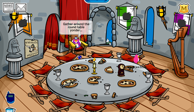 Medieval Party 2010 Pizza Parlor :)