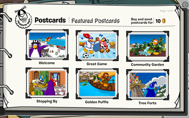 Featured Postcards :)