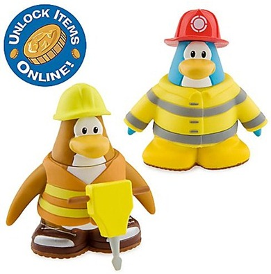 Firefighter and Construction Worker