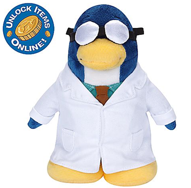 Gary the Gadget Guy Penguin Plush Toy