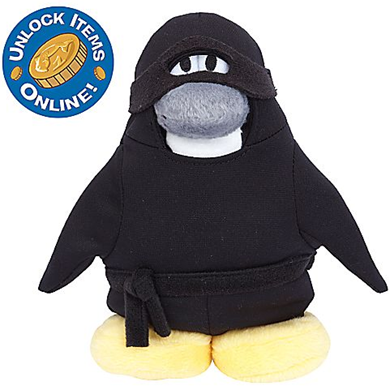 Ninja Penguin Plush Toy