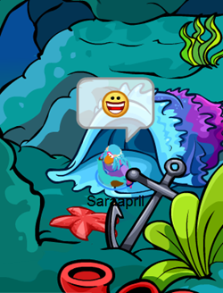Underwater World in Club Penguin :)