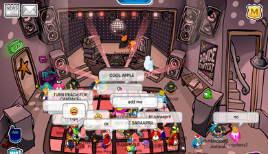 Night Club in Peach :)