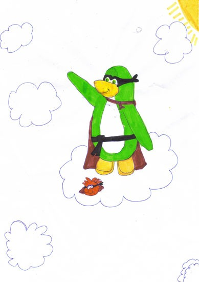 Fan Art Club Penguin :)