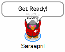 Saraapril works in Rescue Squad :)