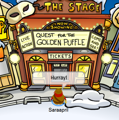 Quest for The Golden Puffle :)