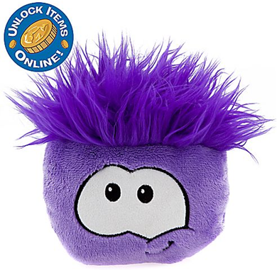 Club Penguin 6'' Purple Pet Puffle :)