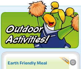 Earth-Friendly Meal :)
