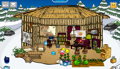 Saraapril's Bamboo Hut Igloo :)
