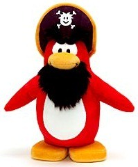 Club Penguin Rockhopper Small Soft Toy :)