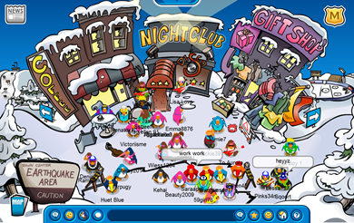 Club Penguin Earthquake 2008 :)