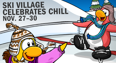 Maze Party in Club Penguin